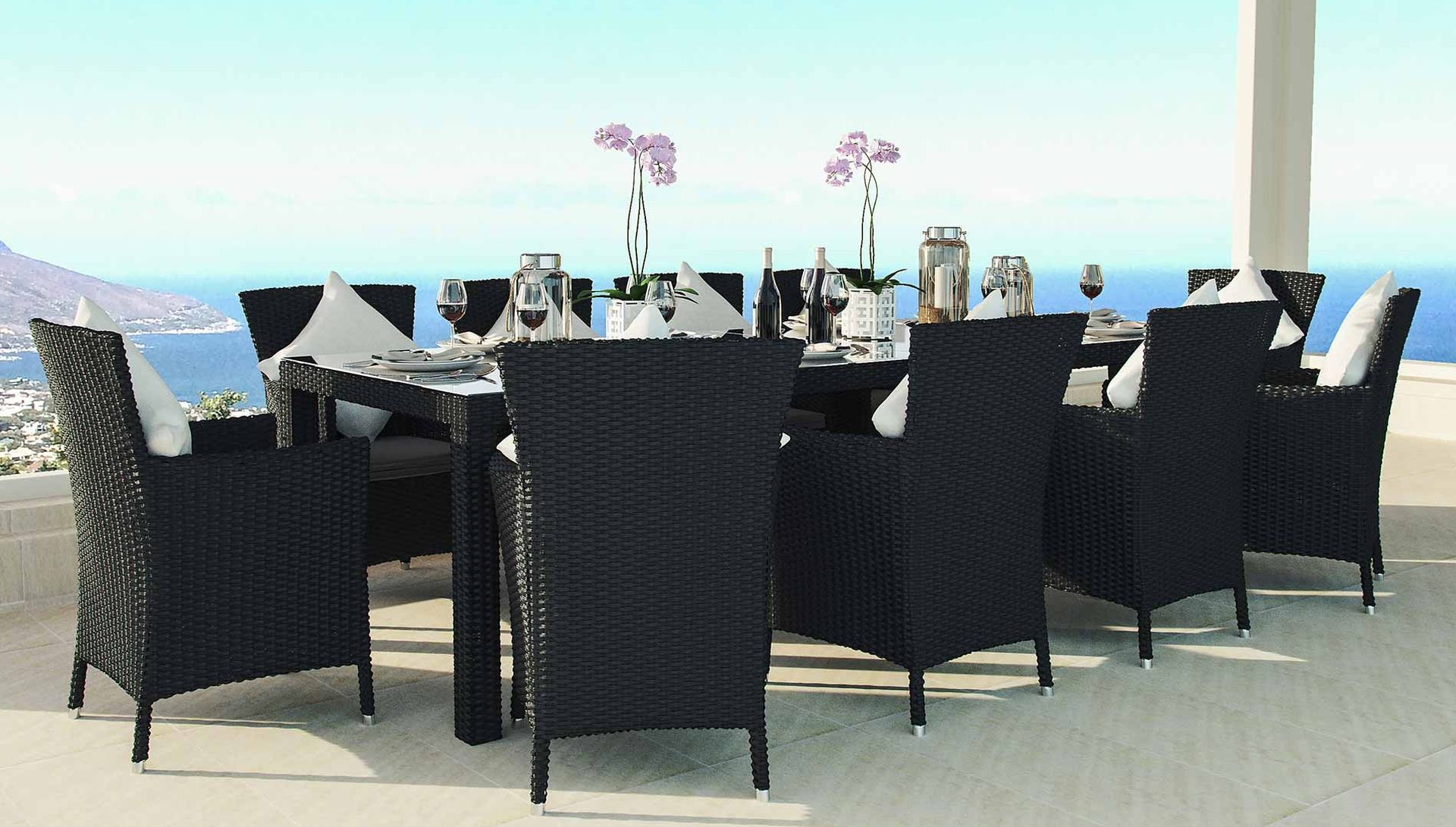 ceres_xxl_big Unique De Table Jardin Resine Tressee