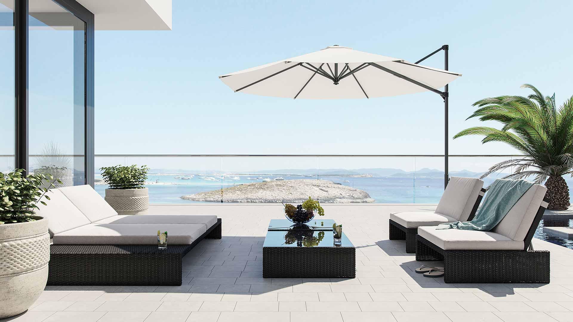 Artelia fr lounge salon de jardin en r sine tress e estoria for Artelia salon de jardin