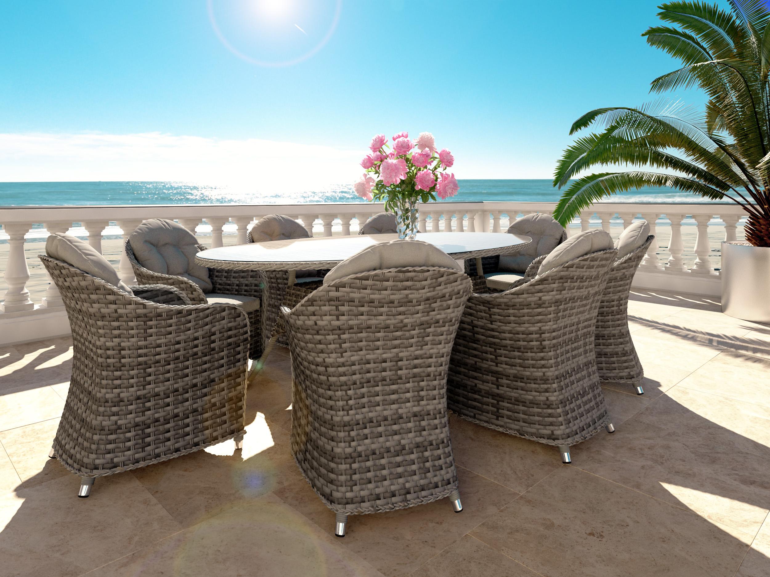 Meilleur de ensemble table et chaise exterieur id es de for Artelia salon de jardin