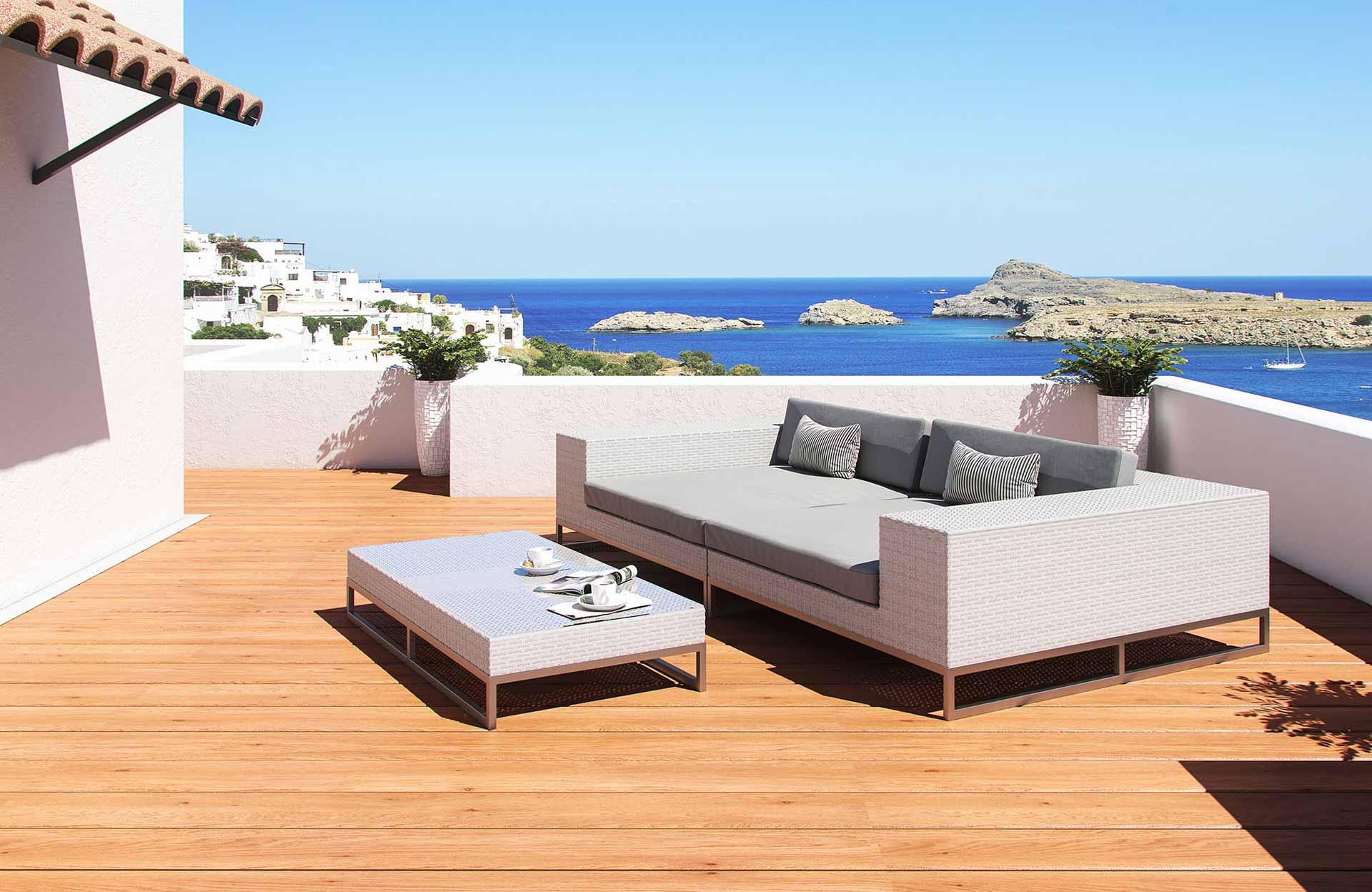 artelia fr exclusivit salon de jardin aluminium matteo. Black Bedroom Furniture Sets. Home Design Ideas