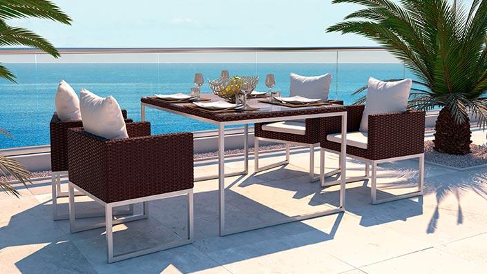 Mara M - Ensemble table et chaises
