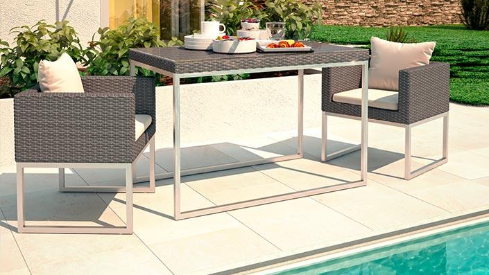 Mara S - Ensemble table et chaises