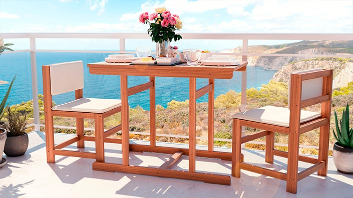 McNulty - Mobilier pour balcon