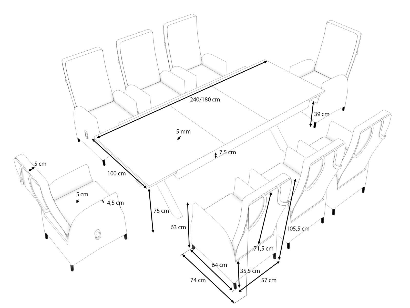 Contenu de la livraison et dimensions