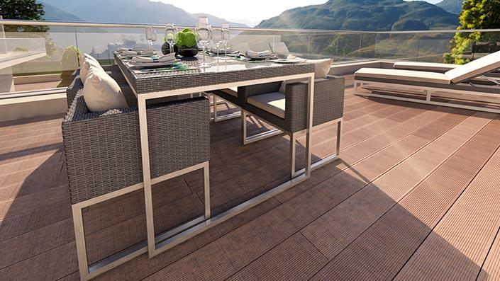 Mara L (Remi) - Ensemble table et chaises