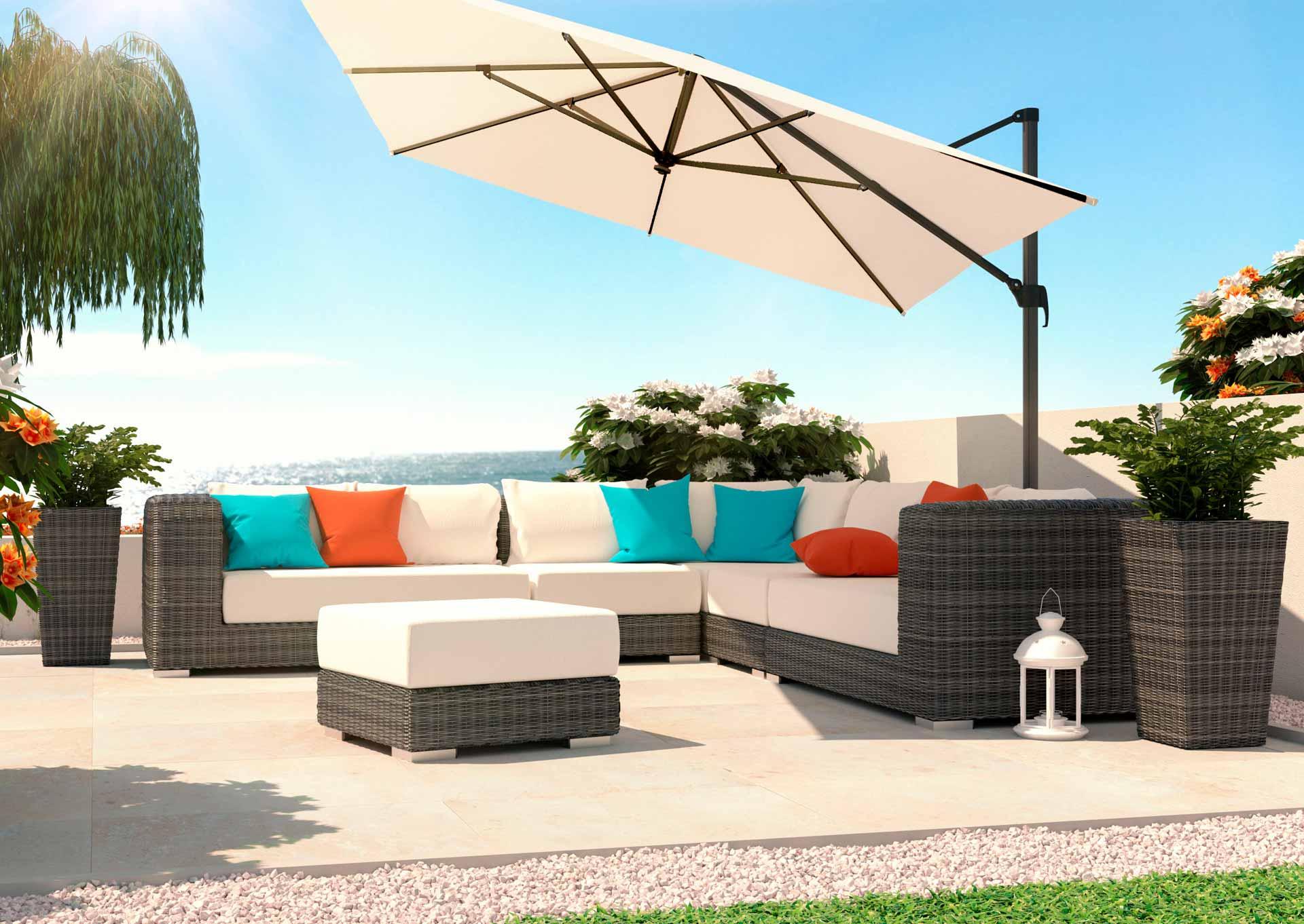 ARTELIA.FR | Salon de jardin de luxe en résine tressée haut de gamme ...