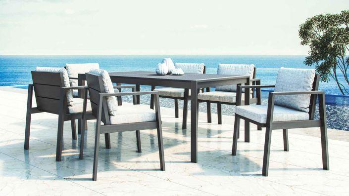 Rosario - Ensemble table et chaises