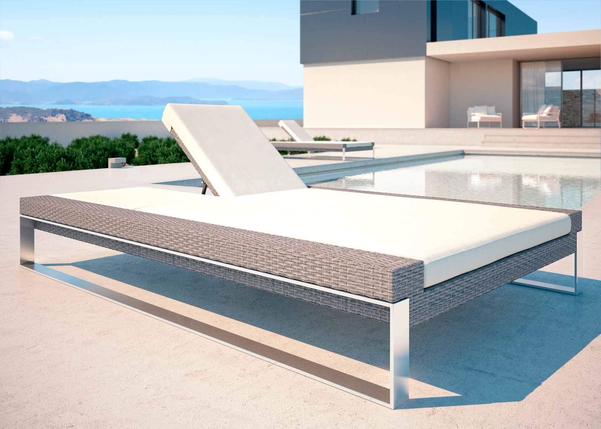 artelia fr bain de soleil en r sine tress e samira. Black Bedroom Furniture Sets. Home Design Ideas