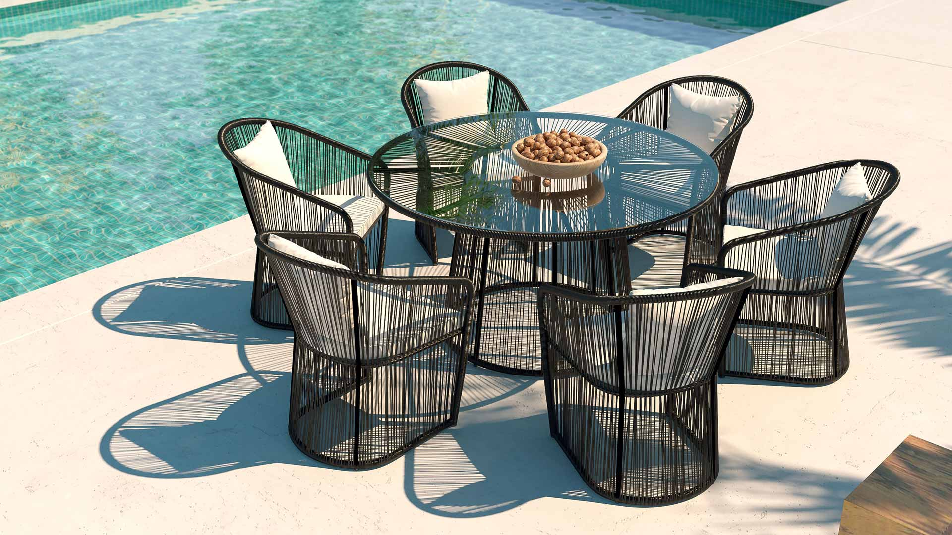 saphir_big Incroyable De Table Et Chaise De Jardin En Resine