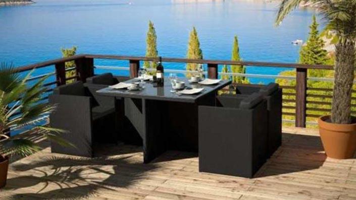 Texalia - Table et chaises en textilène