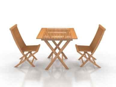 Ensemble table et chaises Naomi S 2 / 3